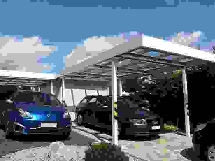 Classic style garage/shed by ESB-Fertiggaragen und Carports Classic
