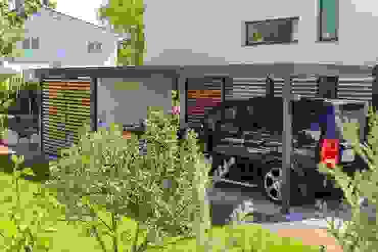 Klasyczny garaż od ESB-Fertiggaragen und Carports Klasyczny