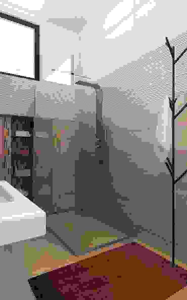 Детские в Московском особняке Ванная комната в стиле минимализм от Дизайн - студия Пейковых Минимализм