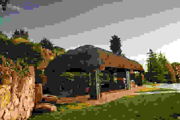 La orientación Slabon Forja Creativa Jardines de estilo tropical