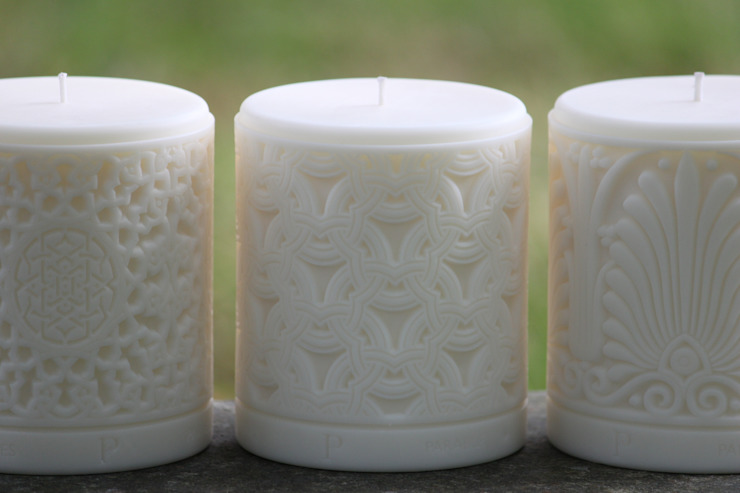 Luxury Middle Eastern, Moorish, Asian rapeseed wax candles de Parable Designs Ltd Asiático