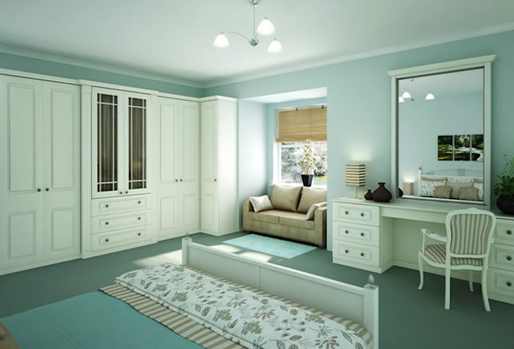 Windsor Fitted Bedroom Furniture de Chase Furniture Clásico