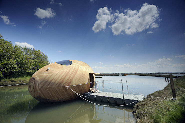 The Exbury Egg in Location 모던스타일 주택 by PAD studio 모던