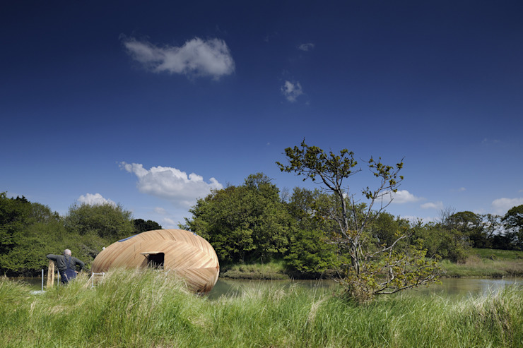 The Exbury Egg in River 모던스타일 주택 by PAD studio 모던