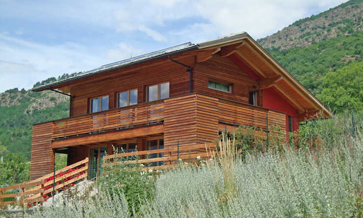 Moderne huizen van Eddy Cretaz Architetttura Modern