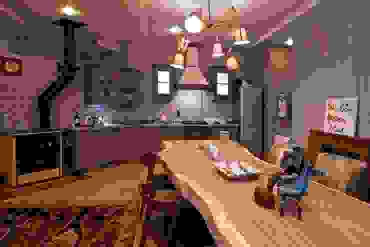 Cozinhas ecléticas por Дизайн-студия интерьера 'ART-B.O.s' Eclético