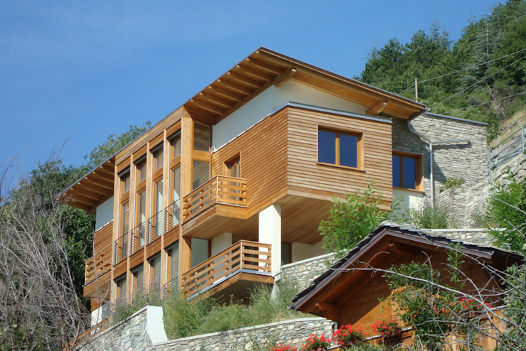 Modern home by Eddy Cretaz Architetttura Modern