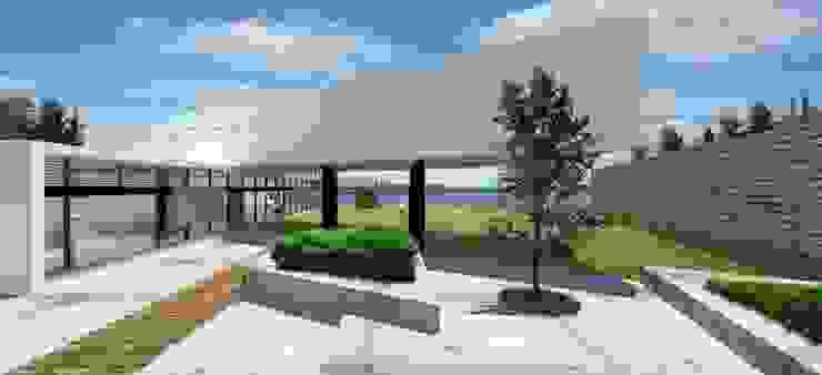 Fachada Norte Casas de estilo moderno de Arquitectura Libre Moderno