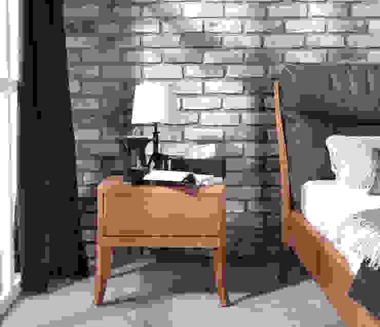 Bedsite table Dream oak amber par Swarzędz Home Classique