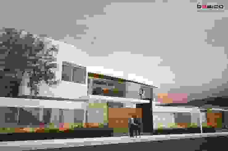 Modern Houses by Básico Arquitectura Modern