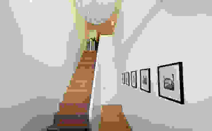 EFH Neubau bei Aarau Moderner Flur, Diele & Treppenhaus von wernli architektur ag Modern