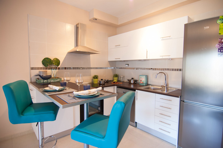 Cocina TENERIFE 1 habitación de Casas en Escena Mediterráneo