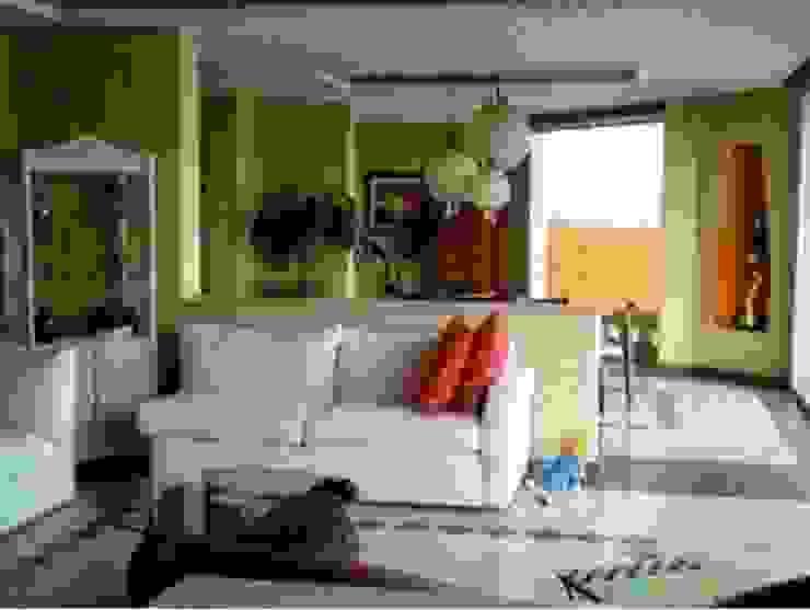 Sala Cerrada Salones tropicales de ARQUELIGE Tropical