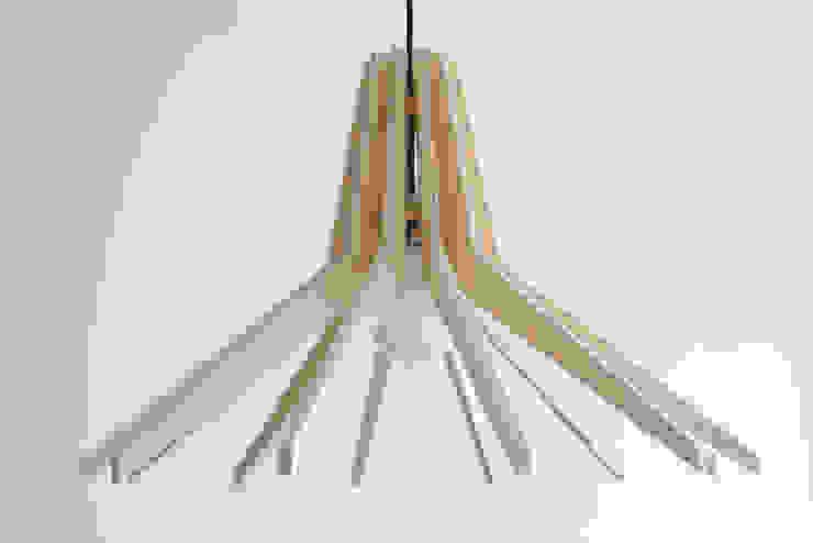 DREWNIANA LAMPA COPO od SEAN Skandynawski