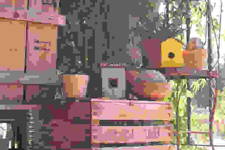 Casas nido #ruralchic de 400sillas Rural Madera Acabado en madera