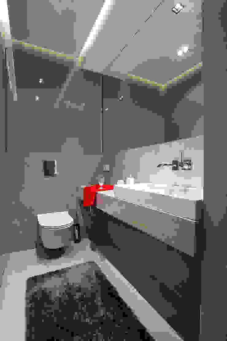 Jacek Tryc-wnętrza Modern bathroom