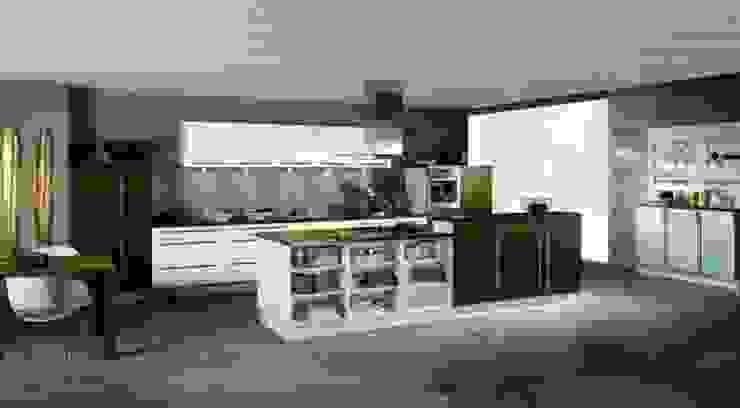 Diseño Interior Residencial Cocinas modernas de Design IN Moderno