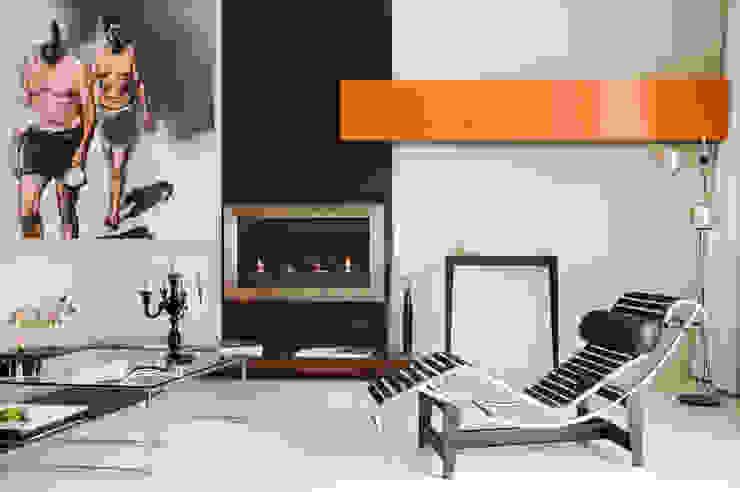 Loft Talensac Salon moderne par Les Colorantes Moderne