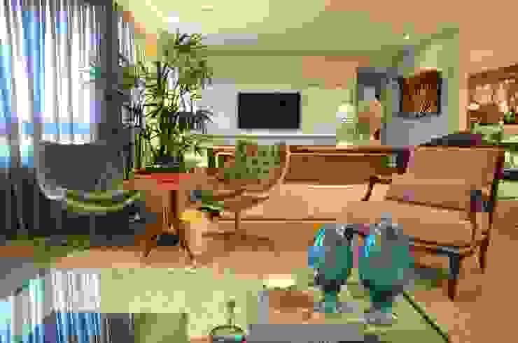 Sala B&N Salas de estar modernas por Juliana Farias Arquitetura Moderno