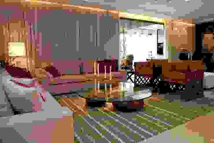 Apartamento CJ Salas de estar modernas por Gláucia Britto Moderno