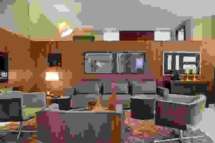 Residência CN Salas de estar modernas por Gláucia Britto Moderno