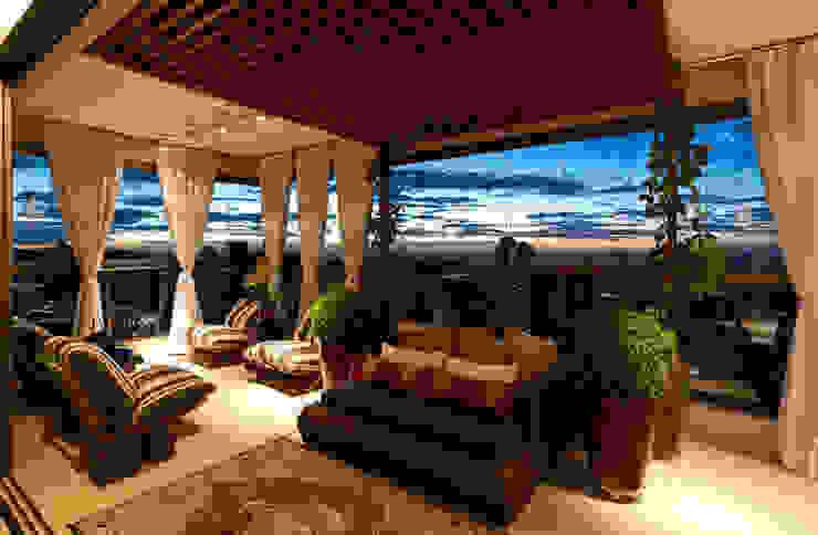 Moderne balkons, veranda's en terrassen van Gláucia Britto Modern