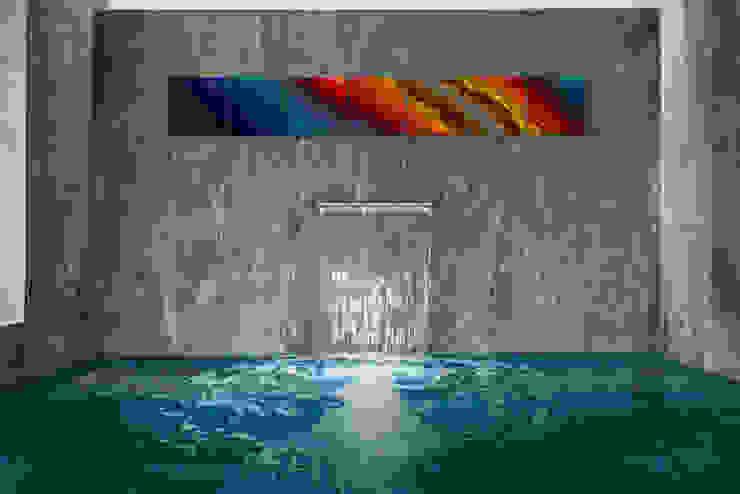 Residencia CD de México Albercas modernas de Studio Orfeo Quagliata Moderno