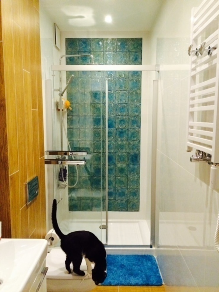 kafle Nowoczesna łazienka od dekornia Nowoczesny