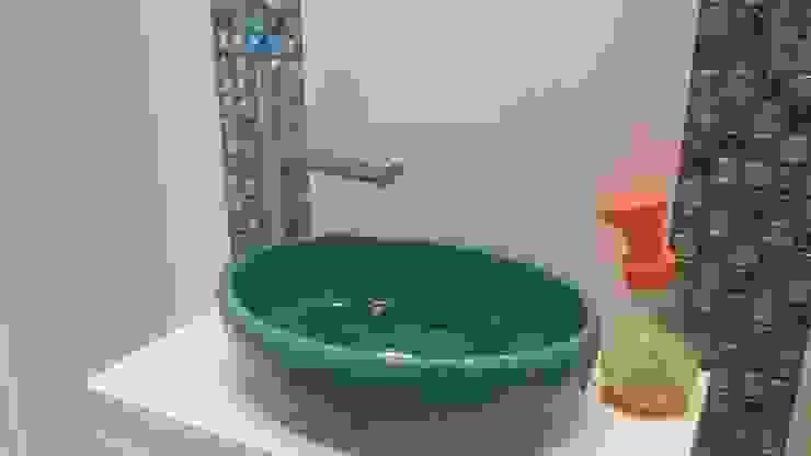 umywalka robiona ręcznie - Przychodnia Weterynaryjna CENTAUR od dekornia Nowoczesny