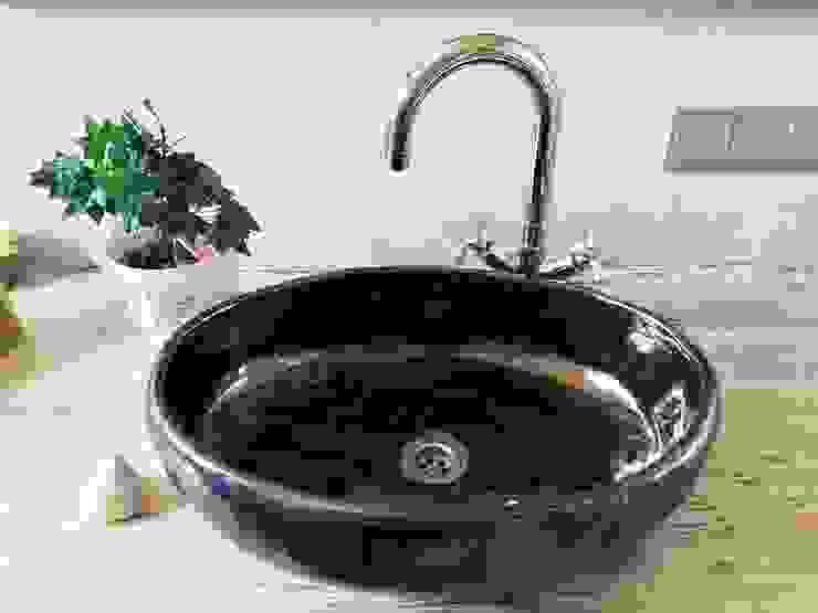 owalna umywalka robiona ręcznie Klasyczna łazienka od dekornia Klasyczny