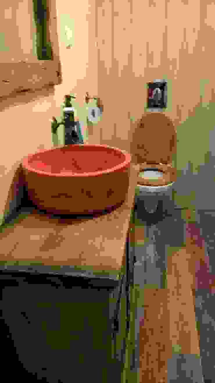 umywalka ceramiczna Wiejska łazienka od dekornia Wiejski