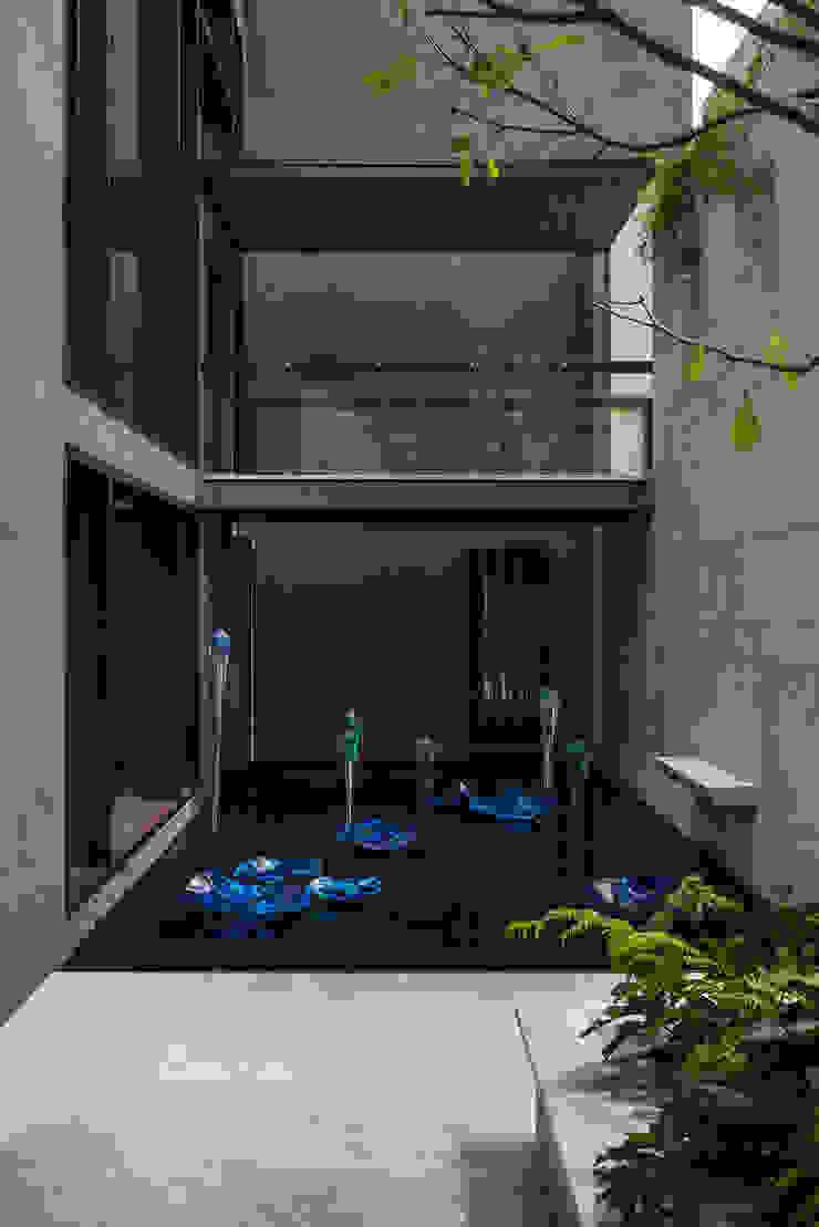 Residencia CD de México 02 Balcones y terrazas modernos de Studio Orfeo Quagliata Moderno