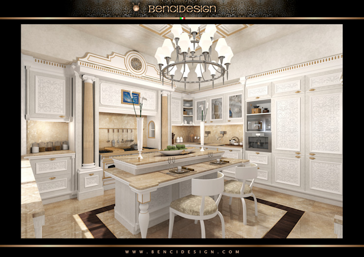 Kitchen by BenciDesign,