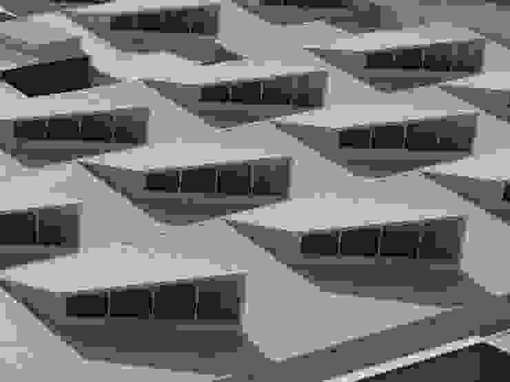 Detalhe da cobertura. Lojas & Imóveis comerciais modernos por Douglas Piccolo Arquitetura e Planejamento Visual LTDA. Moderno