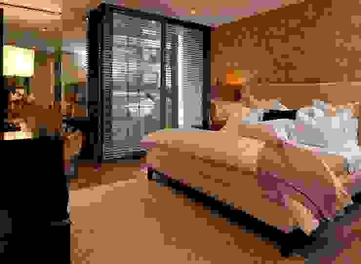 UNUO Interiorismo Eclectic style bedroom