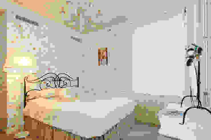 ЖК <q>Воробьевы Горы</q> Спальня в средиземноморском стиле от Sky Gallery Средиземноморский