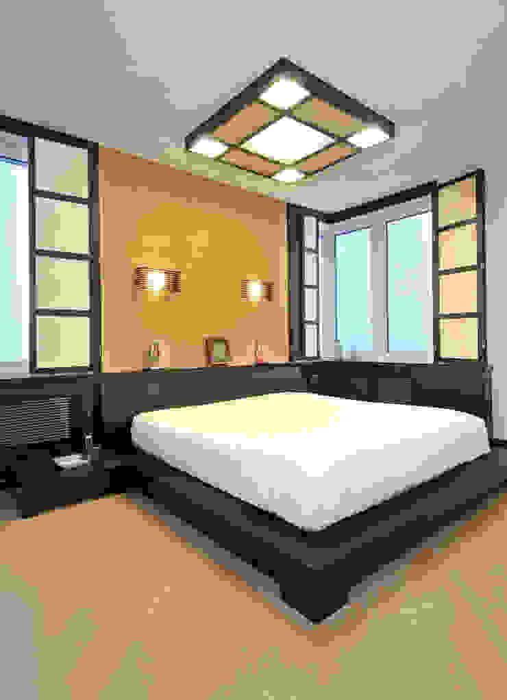 ЖК <q>Воробьевы Горы</q> Спальня в азиатском стиле от Sky Gallery Азиатский