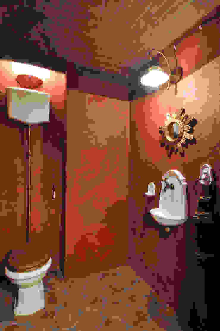 ЖК <q>Воробьевы Горы</q> Ванная комната в эклектичном стиле от Sky Gallery Эклектичный