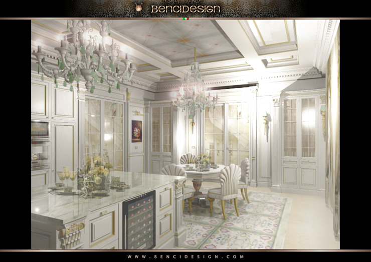 Klasik Mutfak BenciDesign Klasik