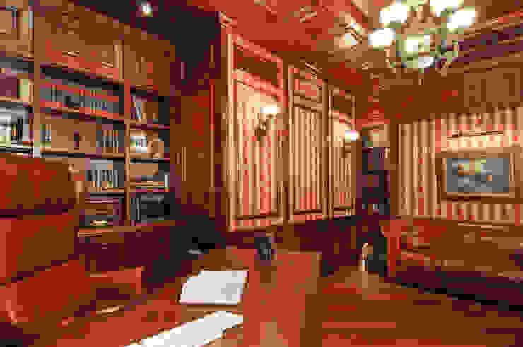ЖК <q>Воробьевы Горы</q> Рабочий кабинет в классическом стиле от Sky Gallery Классический