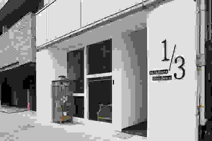 Дома в азиатском стиле от 有限会社タクト設計事務所 Азиатский