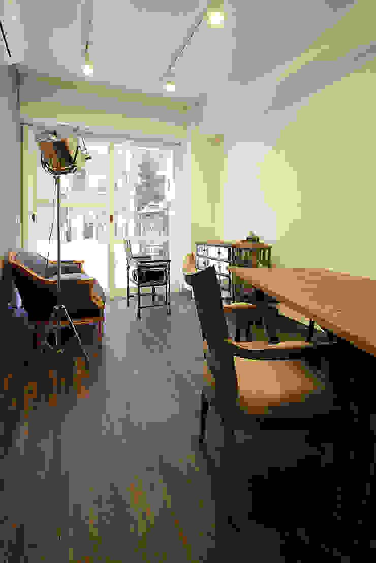 秋葉原リノベーション 和風デザインの 書斎 の 有限会社タクト設計事務所 和風