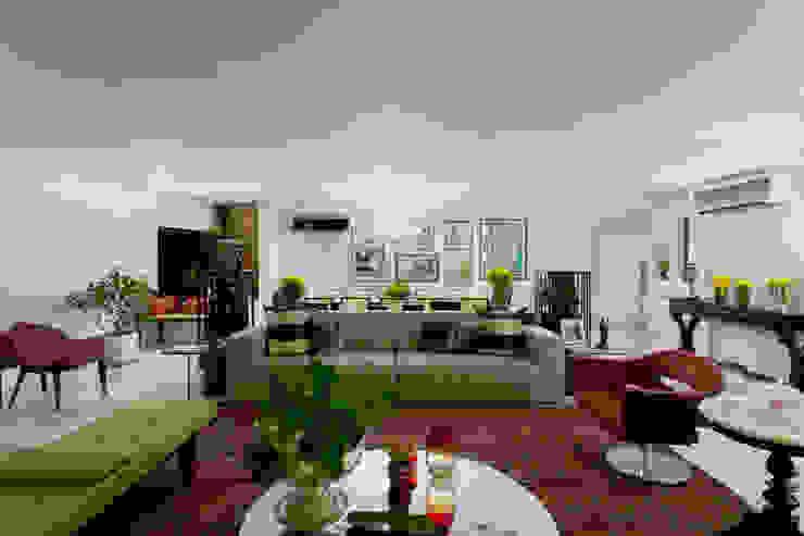 Salas Integradas Salas de estar modernas por homify Moderno