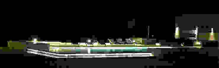 Club de Campo Las Moritas Jardines modernos: Ideas, imágenes y decoración de binomio Moderno