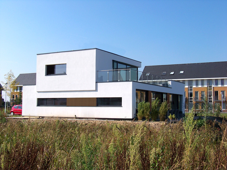Eilandwoning Amersfoort Moderne huizen van Bureau MT Modern