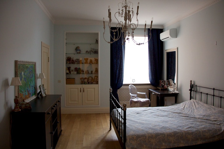Дом на набережной Спальня в классическом стиле от Ширванова Оксана PerfectHome Классический