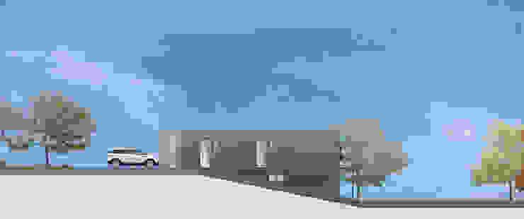 Elegante Sachlichkeit – energetische Sanierung eines Einfamilienhauses mit Balkon : modern  von insa4 ingenieure  sachverständige  architekten,Modern