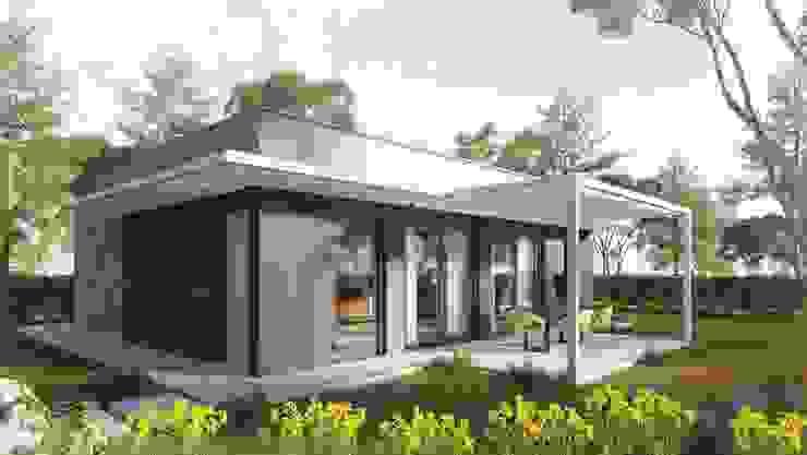 TheZeB Green Building & Interiors Дома в стиле модерн