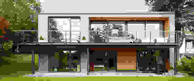 Projekty,  Taras zaprojektowane przez insa4 ingenieure  sachverständige  architekten, Nowoczesny