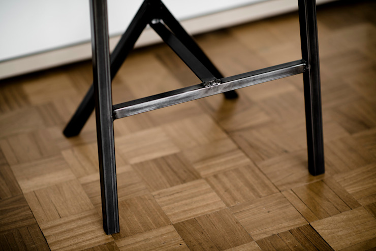 Kitchen Bar Stool: classic  by One Off Oak Limited, Classic